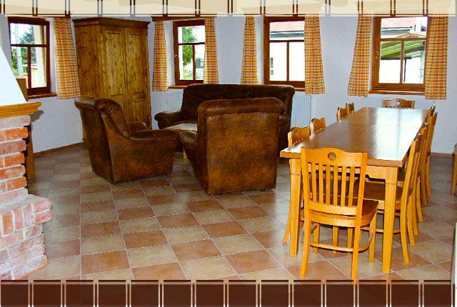 Interiéry v apartmánu Rovensko pod Troskami